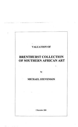 Title page of 'Traditional Collection: M.Stevenson'