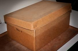 Box with markings