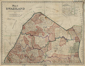 Hamilton's Swaziland Oral History Project Maps, large map 14