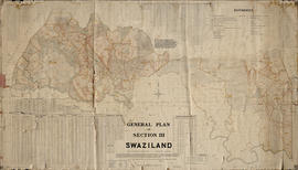 Hamilton's Swaziland Oral History Project Maps, large map 24