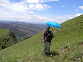Patrick, photograph on Emlembe Mountain, c.2008